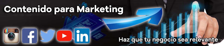 Contenido para Marketing